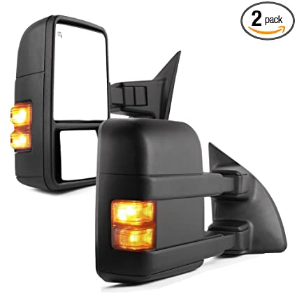 Amazon.com: YITAMOTOR Towing Mirrors for 99-07 Ford F250/F350/F450 on