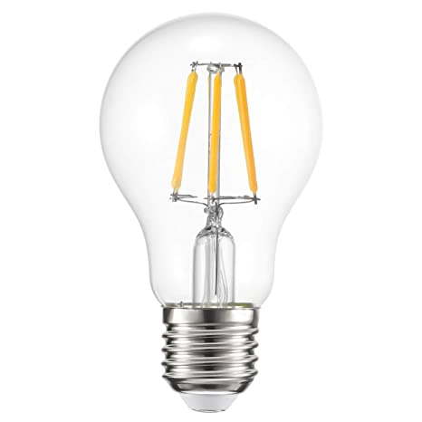 Konesky 6W Bombilla LED 3000K Warmwhite Lámparas de Luces LED Compatible con regulador de Intensidad Inteligente