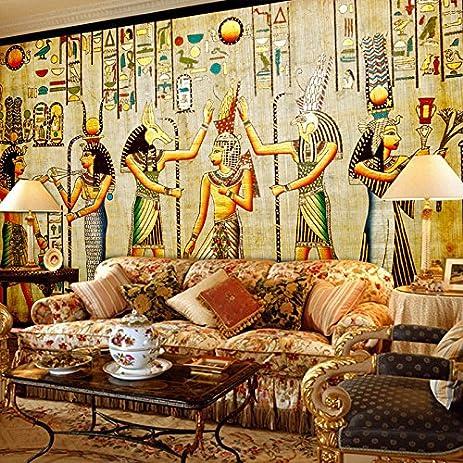 300cmX250cm Mural Wallpaper Egyptian Figures Large Wall Murals Living Room  Restaurant Bedroom Home Decor Wall Paper