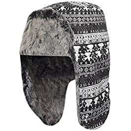 adidas Performance Women's Fur Uschank Russian Trapper Hat – One Size