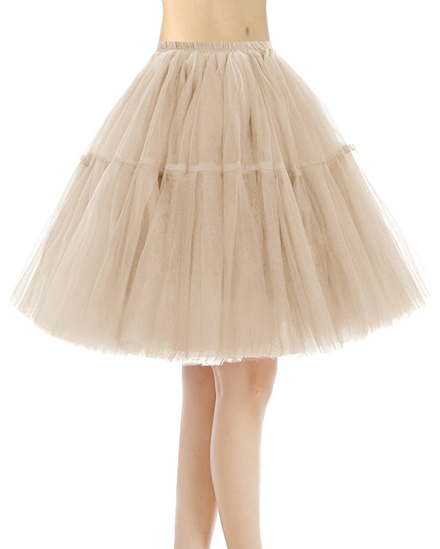8384afb24 Bridesmay Faldas Cortas De Mujer Cancan Enagua para Fietsa Boda product  image