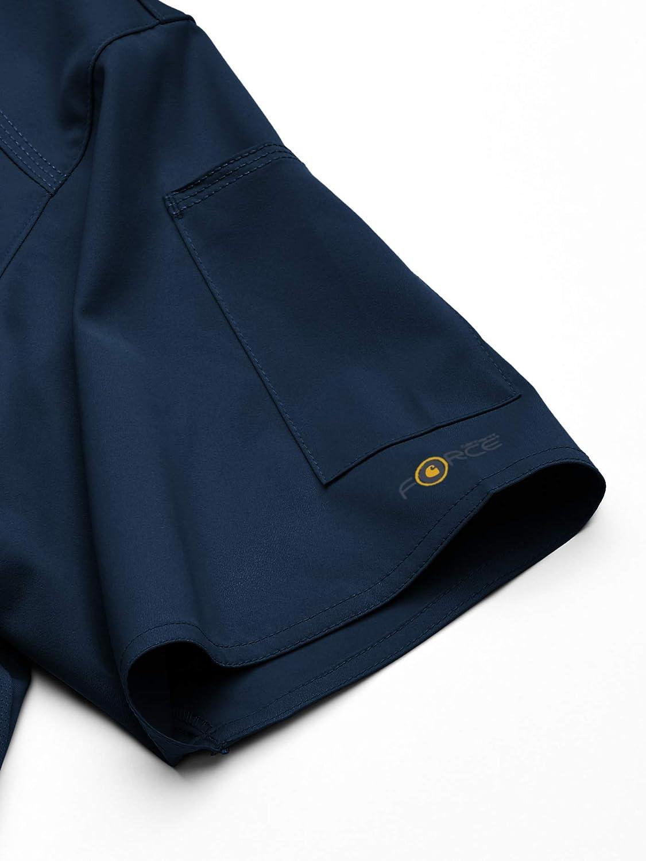 Carhartt Mens Mens Slim Fit V-Neck Top Medical Scrubs Shirt