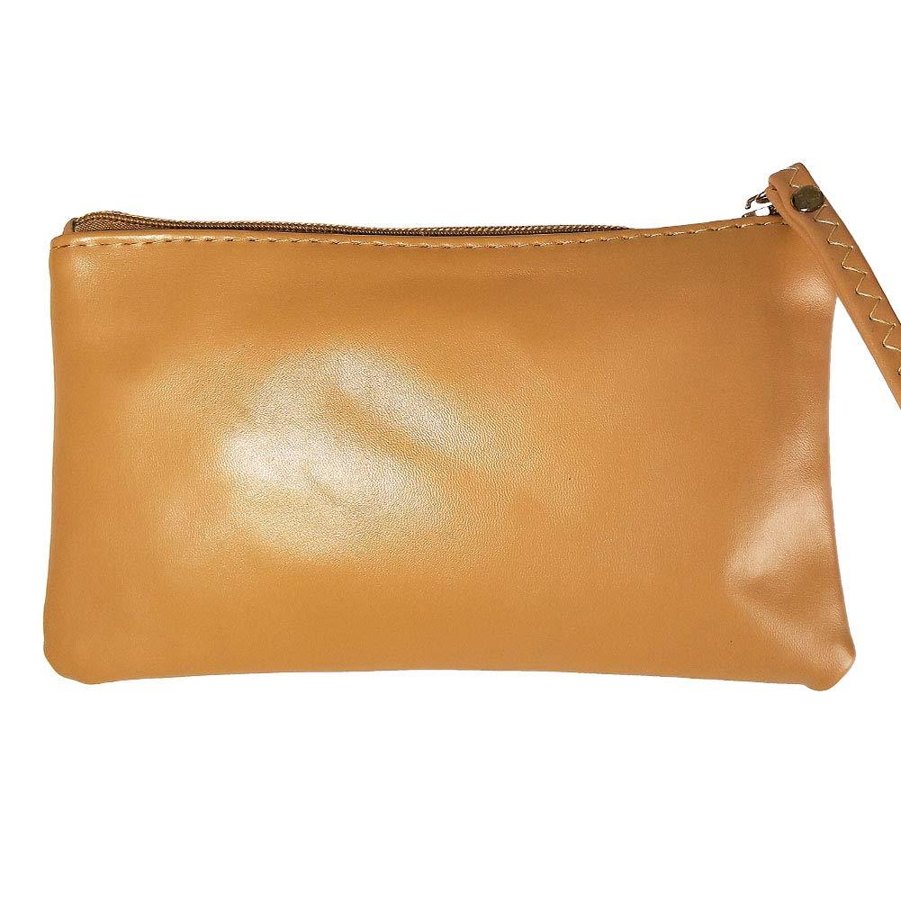 Entry Synthetic Leather closable non-rigid Bag Handbag Purse #za31