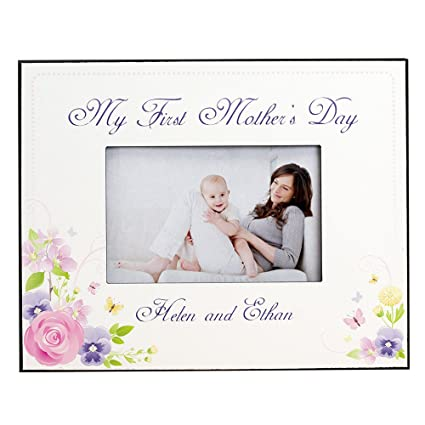 Amazon.com - GiftsForYouNow My First Mothers Day Printed Frame -