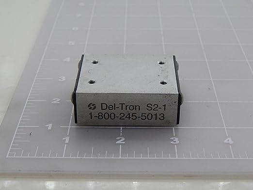 38 mm x 102 mm Inc 75 mm Travel Del-Tron Precision Metric Ball Slide Assemblies