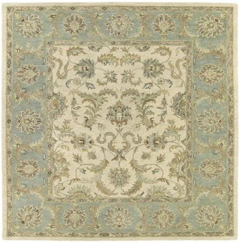 Kaleen Rugs Solomon Collection 4052-01 Ivory Hand Tufted 8 X 10 Rug