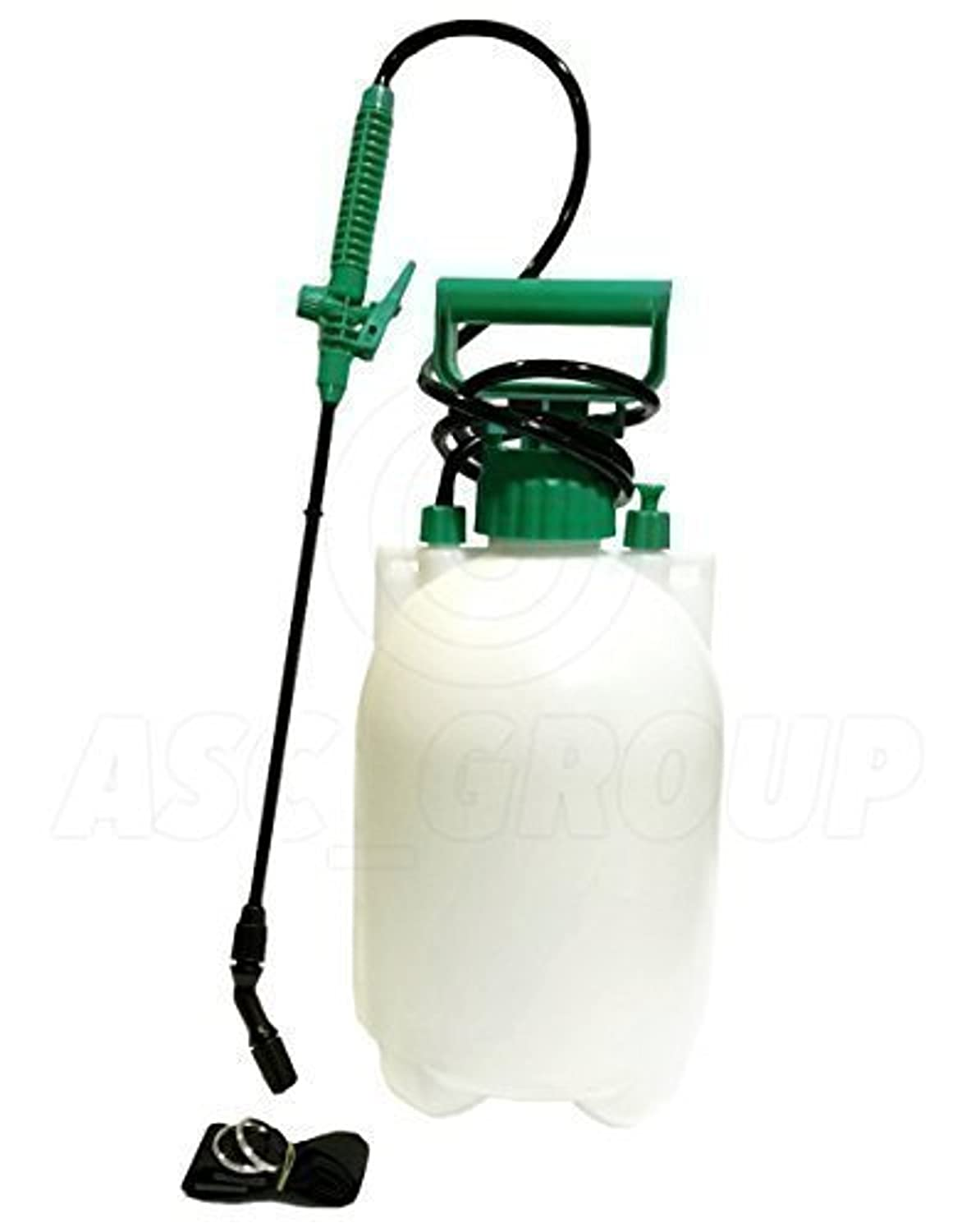 5L 5 Litre Pressure Sprayer - Knapsack, Shoulder Strap, Pump & Trigger Action - For Weed Killer/Water/Pesticides Etc. ASC