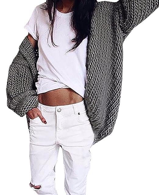 Amazon.com: lovaru de la mujer chaqueta de punto Sweater ...