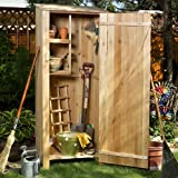 Western Red Cedar Storage Hutch / Shed - Patio and Garden Furniture