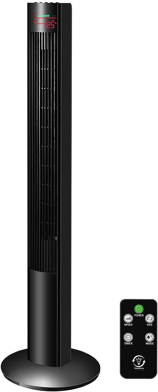 Famgizmo 120cm Ventilador de Torre Digital, 3 Velocidades, 3 Modos ...