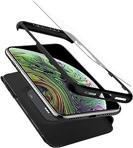 Spigen Thin Fit 360 Designed for iPhone Xs Case (2018) / Designed for iPhone X Case (2017) - Black