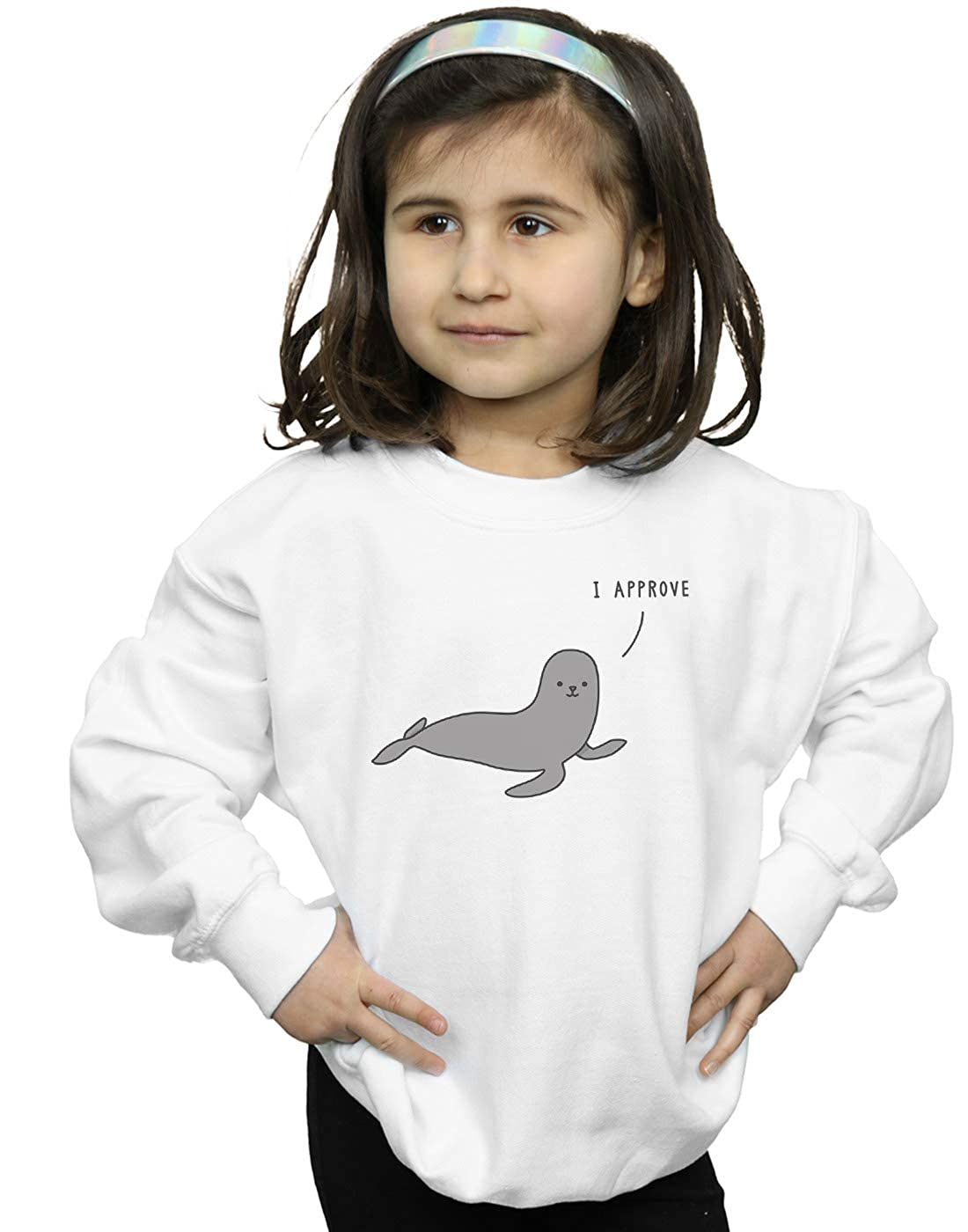 Absolute Cult Jaco Haasbroek Girls Seal of Approval Sweatshirt