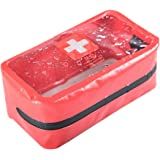 First Aid Kit Bag 0.7l Red Pvc Outdoors Camping Emergency Survival Empty Bag Bandage Drug Waterproof Storage Bag 11*15.5*5cm Back To Search Resultssecurity & Protection