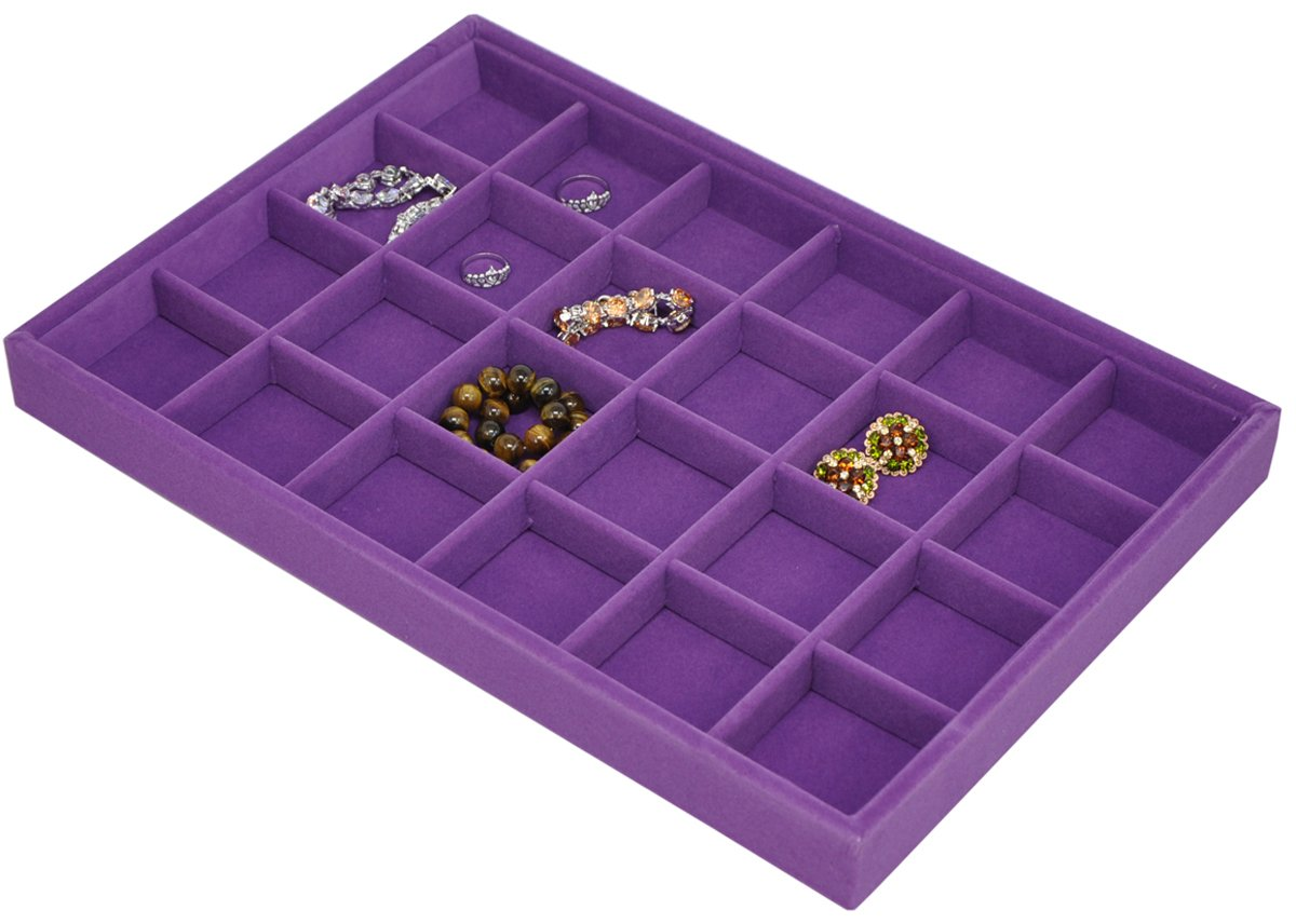 Stackable Jewelry Showcase Display Organizer Image 1
