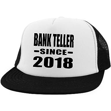 Designsify Bank Teller Since 2018 - Trucker Hat Visera, Gorra de ...