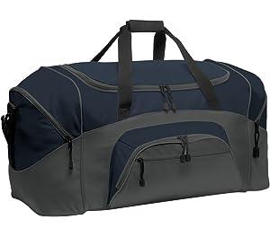 3470bc8145b4 Amazon.com   Port & Company luggage-and-bags Improved Gym Bag OSFA ...