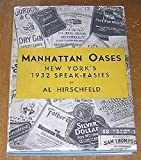 img - for Manhattan Oases; New York's 1932 Speak-Easies book / textbook / text book
