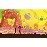 Amazon Price History for:Tomorrow sunny 24X36 INCH / ART SILK POSTER / Rick and Morty Adult Swim Adult Swim cartoons cartoons space animation planet Home Decoration by Tomorrow sunny