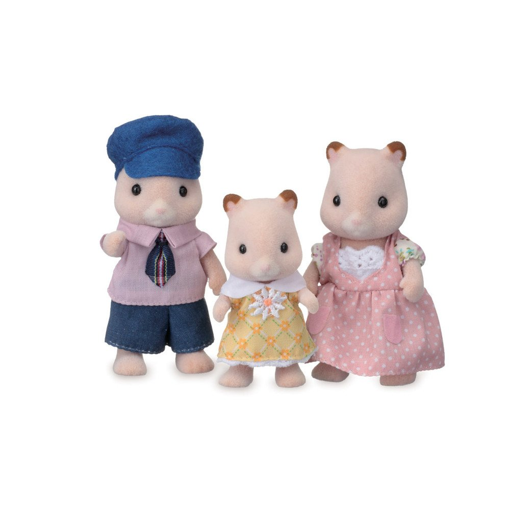 Amazon.com: Calico Critters Fluffy Hamster Family: Toys & Games