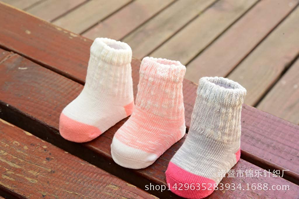 Unisex Baby Cotton Tube Socks Childrens Socks for 0-3 Years Baby Boys Girls