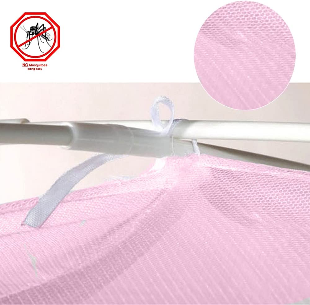 Sealive Baby Bed Crib Tent Potable Travel Tents Cot Bedding Crib Cover to Keep Baby from Climbing Out Safety Mosquito Net Toddler Mattress Frame Mesh Netting