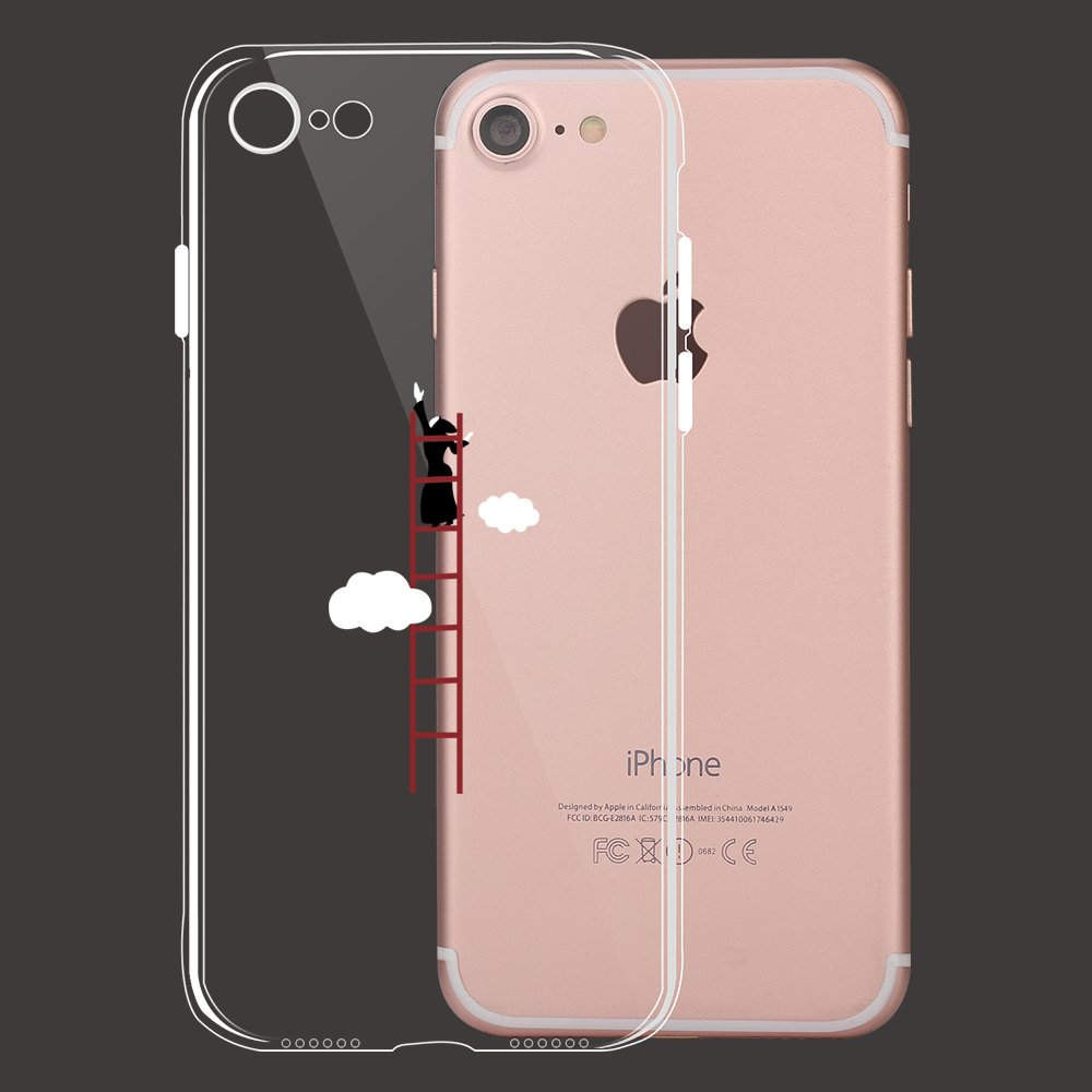 Amazon.com: Dorami Funny Series - Carcasa para iPhone 7 (TPU ...