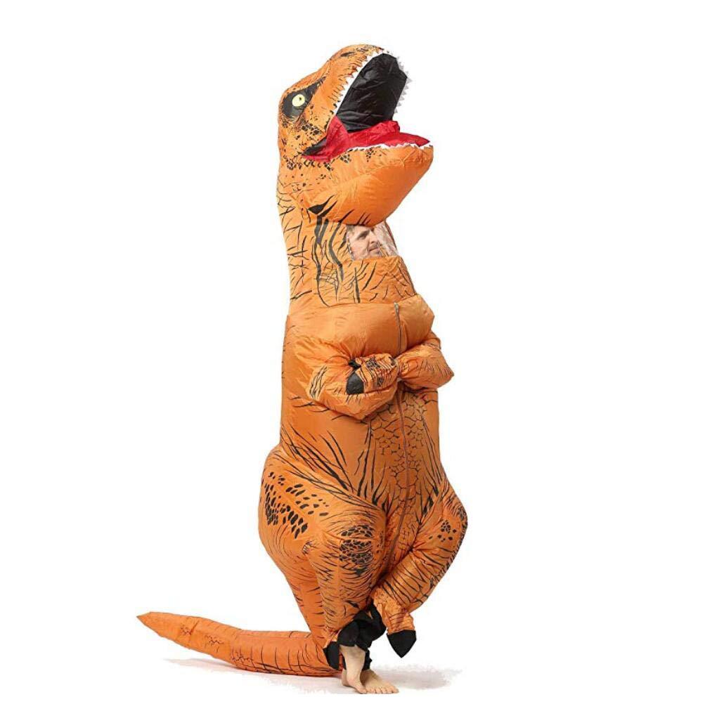 SHUFEI Halloween Aufblasbare Luxus T-Rex Dinosaurier Dress Up Lustige Simulation Luxus Aufblasbare Cosplay Kostüm Anzug 699674
