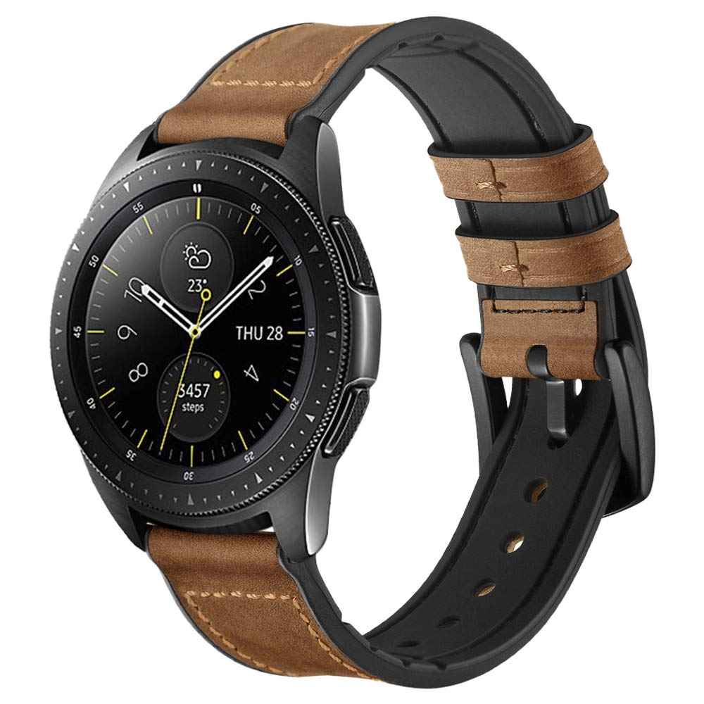Malla reloj Galaxy Watch 42mm/Active 40mm (marron)
