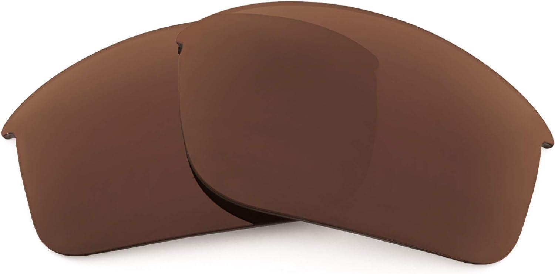 Revant Verres de Rechange pour Oakley RPM Edge - Compatibles avec les Lunettes de Soleil Oakley RPM Edge Marron Foncé - Non Polarisés