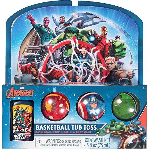 Toss Bath (Marvel AVENGERS Bathtub Basketball