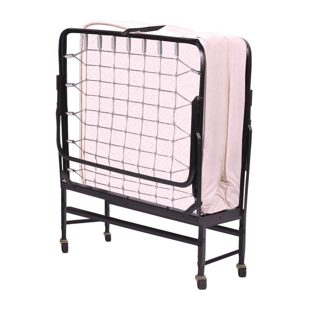 Serta 39'' Portable Rollaway Bed with Twin Mattress by Serta