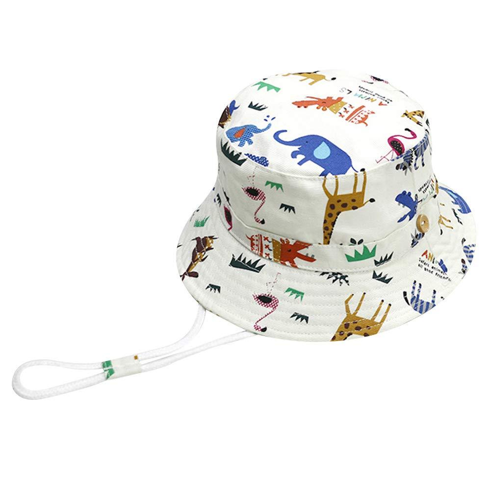Amazon.com  YuCheng(TM Baby Sun Hat Baby Toddler Fisherman Hat Cool Star  Pattern Jean Sun Hat with Chin Strap  Clothing 660da3ee0da