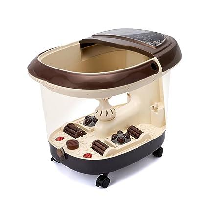 Cubo de madera para baño de pies Brisk- Bañera De Pie Masaje Automático Baño De