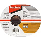 Makita B-12647-10 5'' x .040'' x 7/8 INOX Thin Cut-Off Wheel, 10/Pk