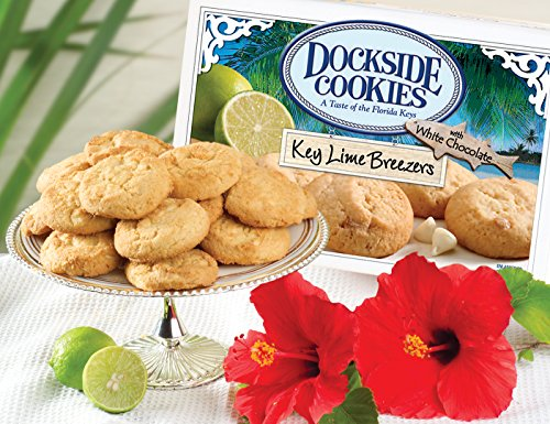 Key Lime Chocolate - Dockside Market Direct From The Florida Keys Key Lime Cookies With Natural Key Lime And White Chocolate Chips