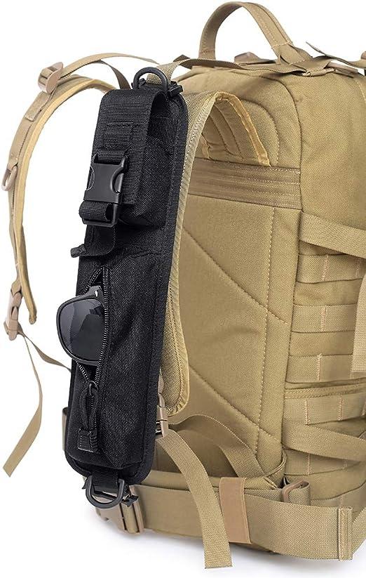 Rucksack Schultergurt Tasche Reisende, Rucksack Aufsatz für Wanderer