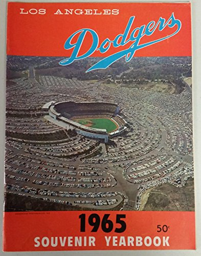 Yearbook Near Mint (1965 Dodgers Yearbook - World Champions! (from Dodgers' manager Walter Alston's Personal Collection - LOA from Alston family) Near-Mint [Very lt wear on cover, overall very clean])