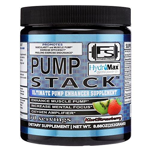 Pump Stack - Pump Enhancer - Non Stimulant Pre Workout (Pre Workout Stack)