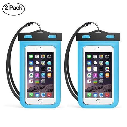 fea6d5fa5dfc ATOMZONE Impermeable Celular Fundas Agua Celular PVC+ABS Funda Celular para  iPhone X/8