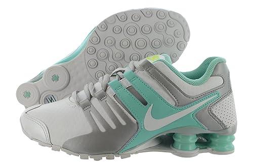 194c3c6398fbe ... coupon nike shox nz zapatillas de running para mujer blanco blanco  turquesa e4e31 a9f59