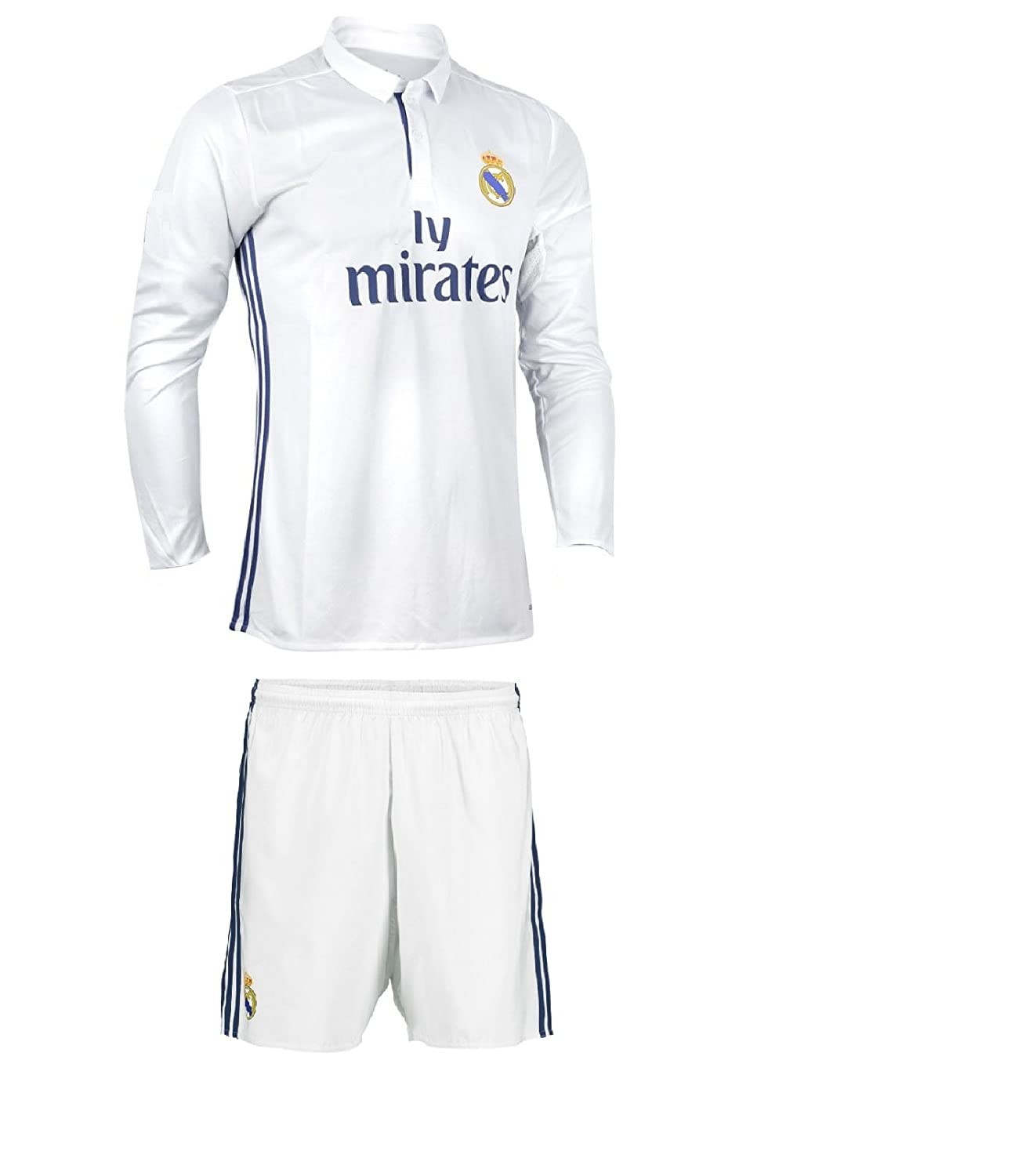 size 40 4422b af84e Buy Generic Real Madrid Home Full Sleeves Football Jersey ...