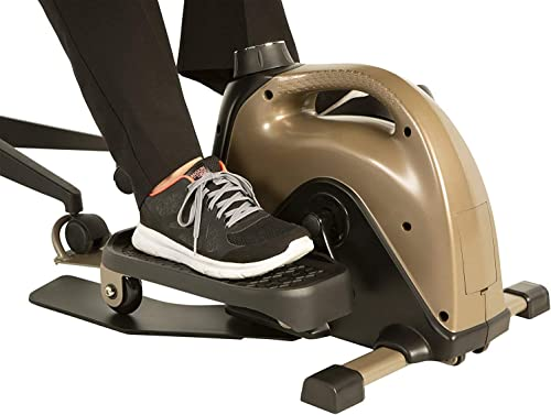 Exerpeutic 900E EXERWORK No Impact Bluetooth Smart Cloud Fitness Under Desk Elliptical