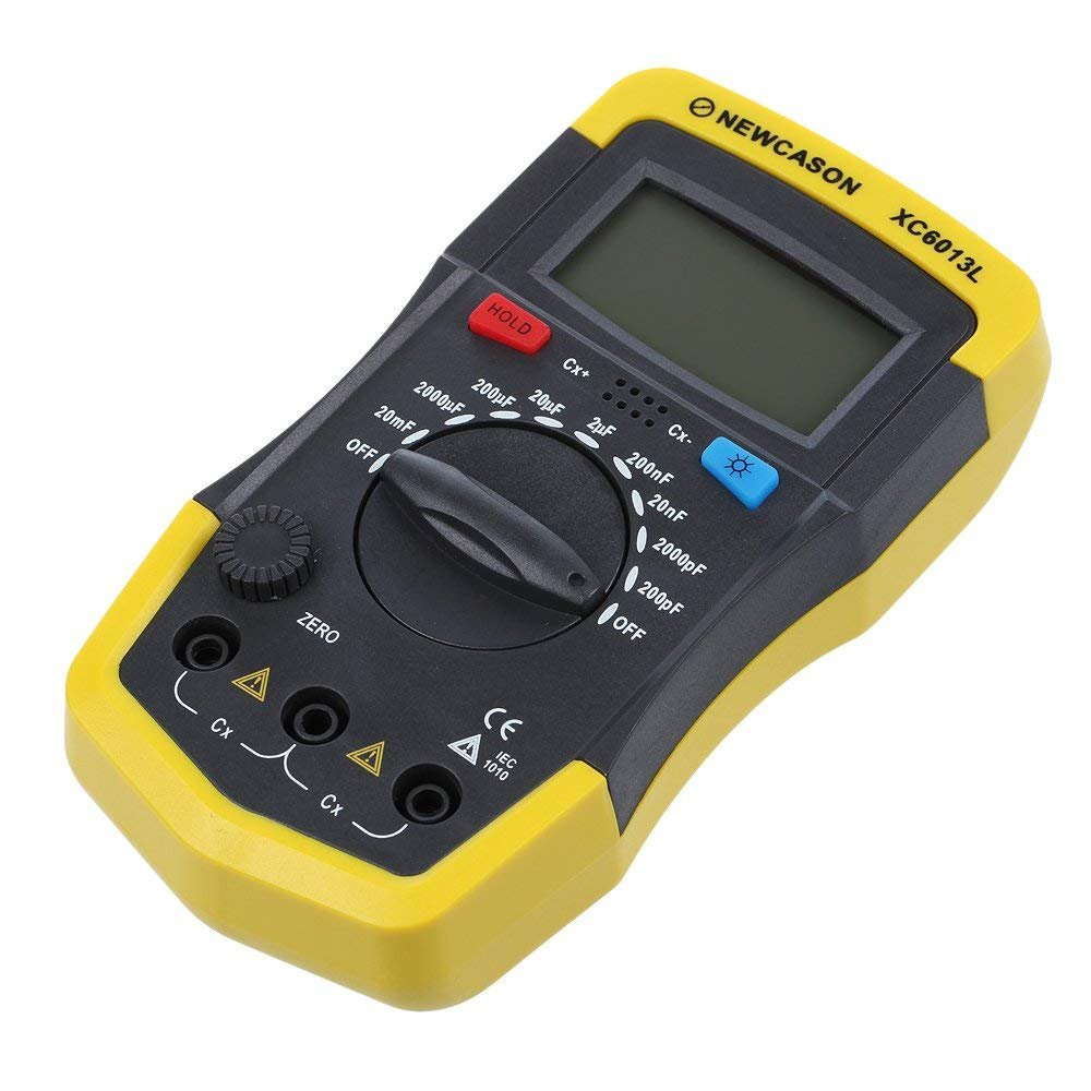 Lcd Digital Meter Xc6013l Capacitance Capacitor Tester Mf Uf Circuit Lcr Electro Science Industries For Sale Electroniccircuits Gauge