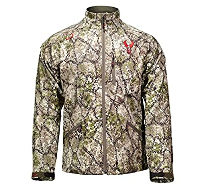 Badlands Velocity Water Resistant Softshell Hunting Jacket - Approach Camo