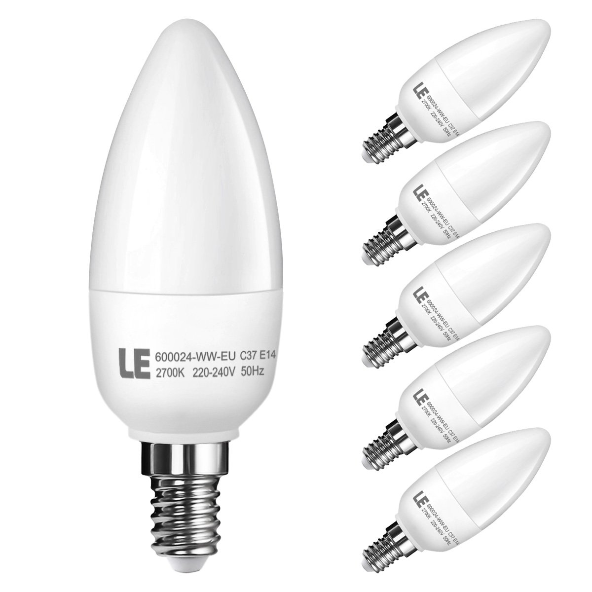 Le 55w e14 c37 led lampen ersatz fr 40w glhlampen 470lm le 55w e14 c37 led lampen ersatz fr 40w glhlampen 470lm warmwei 2700k 180 abstrahlwinkel led birnen kronleuchter led kerzenlampen led parisarafo Image collections