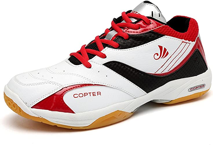 Zapatillas de Squash y b/ádminton de Sint/ético para Hombre White//Red Yonex