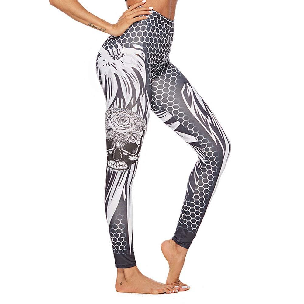 Pantalones de Yoga de Entrenamiento de Cintura alt ...