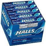 HALLS Cough Drops, (Mentho-Lyptus, 9 Drops, 20-Pack)
