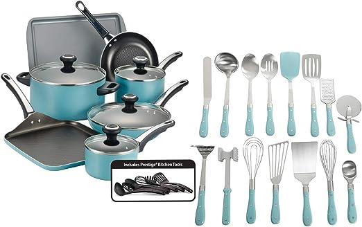 Professional Farberware Kitchen Cooking Utensils Gadget Dishwasher Non Stick Set