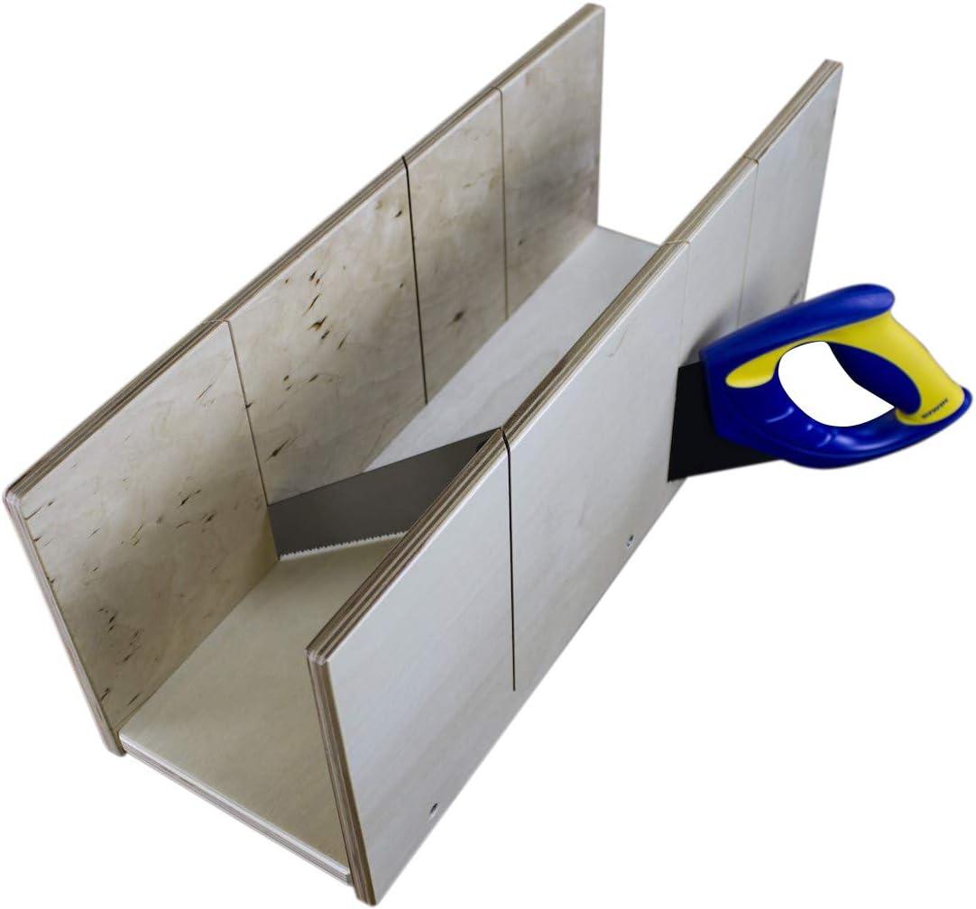 Marbet Design - Caja para ingletes y serrucho: Amazon.es ...